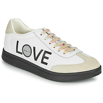 Sapatos Mulher Sapatilhas Desigual COSMIC LETTERING Branco