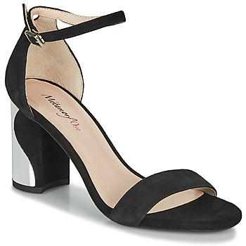 Sapatos Mulher Sandálias Metamorf'Ose GABELOU Preto
