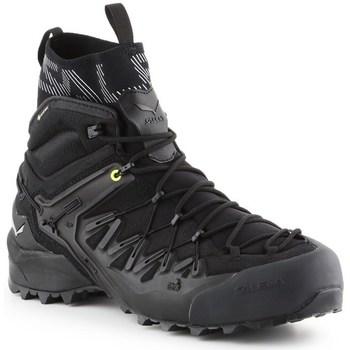Sapatos Homem Sapatos de caminhada Salewa MS Wildfire Edge Mid Gtx Preto