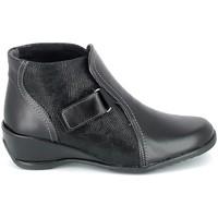 Sapatos Mulher Botas baixas Boissy Boots Noir Preto