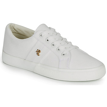 Sapatos Mulher Sapatilhas Lauren Ralph Lauren JANSON II Branco