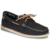 Sapatos Homem Sapato de vela Timberland ATLANTIS BREAK BOAT SHOE Preto