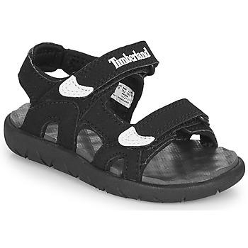 Sapatos Criança Sandálias Timberland PERKINS ROW 2-STRAP Preto