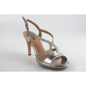 Sapatos Mulher Sandálias Bienve Cerimônia senhora boas-vindas, 1jb-19147 prata Argenté