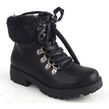 Sapatos Rapariga Botas de neve Katini Saque menina  16727 klm preto Preto