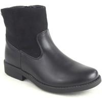Sapatos Rapariga Botins Katini 16739 KLM negro