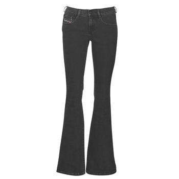 Textil Mulher Calças de ganga bootcut Diesel EBBEY Azul / Escuro