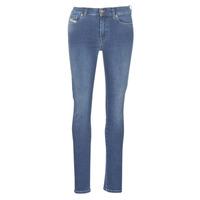 Textil Mulher Calças de ganga slim Diesel D-ROISIN Azul