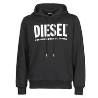Textil Homem Sweats Diesel GIR-HOOD-DIVISION Preto