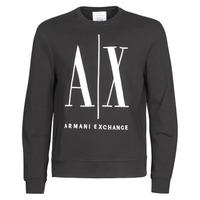 Textil Homem Sweats Armani Exchange HELIX Preto