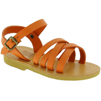 Sapatos Rapariga Sandálias Attica Sandals HEBE CALF ORANGE arancio