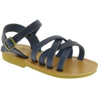 Sapatos Homem Sandálias Attica Sandals HEBE NUBUK BLUE blu