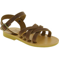Sapatos Rapariga Sandálias Attica Sandals HEBE NUBUK DK BROWN Marrone medio
