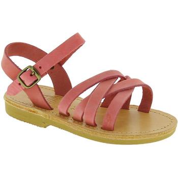 Sapatos Rapariga Sandálias Attica Sandals HEBE NUBUK PINK Rosa chiaro