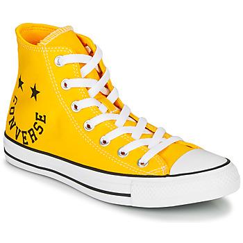 Sapatos Sapatilhas de cano-alto Converse CHUCK TAYLOR ALL STAR - HI Amarelo