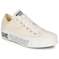 Sapatos Mulher Sapatilhas Converse CHUCK TAYLOR ALL STAR LIFT - OX Bege