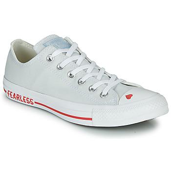 Sapatos Mulher Sapatilhas Converse CHUCK TAYLOR ALL STAR LOVE CANVAS - OX Branco / Vermelho