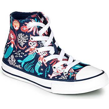 Sapatos Rapariga Sapatilhas de cano-alto Converse Chuck Taylor All Star Underwater Party Azul