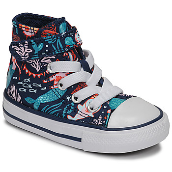 Sapatos Rapariga Sapatilhas de cano-alto Converse CHUCK TAYLOR ALL STAR 1V UNDERWATER PARTY Azul