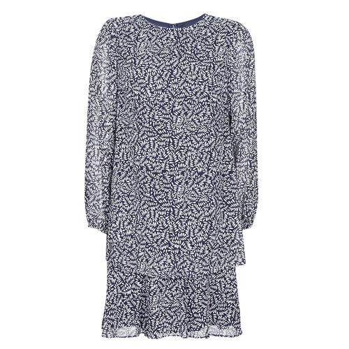 Textil Mulher Vestidos curtos Lauren Ralph Lauren Alois Marinho / Branco
