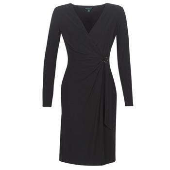 Textil Mulher Vestidos compridos Lauren Ralph Lauren Andy Preto
