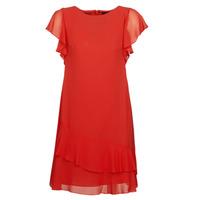 Textil Mulher Vestidos curtos Lauren Ralph Lauren Arolde Vermelho