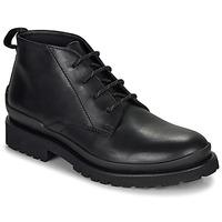Sapatos Homem Botas baixas HUGO SCOUT DESB IT Preto