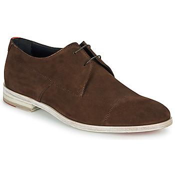 Sapatos Homem Sapatos HUGO MIDTOWN DERB SD Castanho