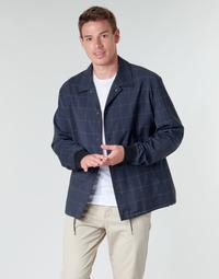 Textil Homem Jaquetas HUGO UROQ2022 Marinho
