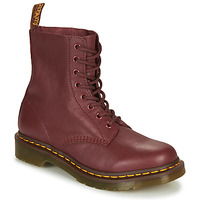 Sapatos Mulher Botas baixas Dr Martens 1460 Vermelho