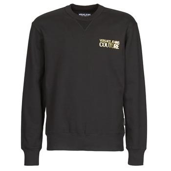 Textil Homem Sweats Versace Jeans Couture B7GVA7FB Preto / Ouro
