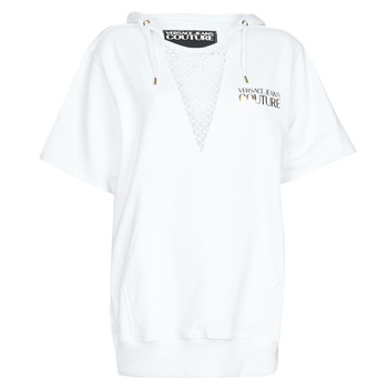 Textil Mulher Vestidos curtos Versace Jeans Couture B6HVA771 Branco / Ouro