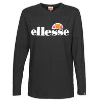 Textil Mulher T-shirt mangas compridas Ellesse GRAZIE Preto