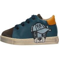 Sapatos Rapaz Sapatilhas Falcotto - Sneaker azzurro NINO AZZURRO