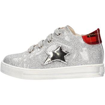 Sapatos Rapaz Sapatilhas Falcotto - Polacchino argento SASHA ARGENTO