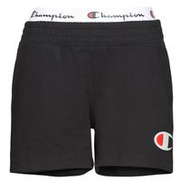 Textil Mulher Shorts / Bermudas Champion KOUSANE Preto