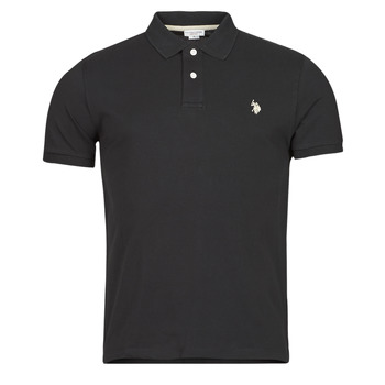 Textil Homem Polos mangas curta U.S Polo Assn. INSTITUTIONAL POLO Preto