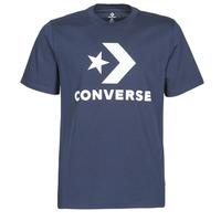 Textil Homem T-Shirt mangas curtas Converse Star Chevron Tee Azul