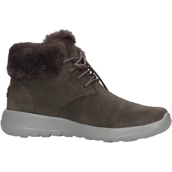 Sapatos Mulher Botas de neve Skechers - Lace up bootie grigio 15506 CHAR GRIGIO