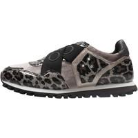 Sapatos Rapaz Sapatilhas Liu Jo - Sneaker marrone WONDER 02 MARRONE