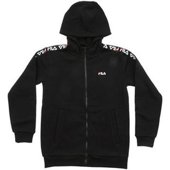 Textil Rapaz Sweats Fila - Felpa zip nero 687264-002 NERO
