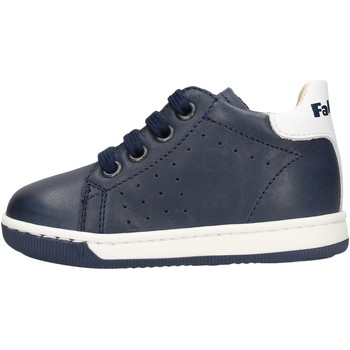 Sapatos Rapaz Botas baixas Falcotto - Polacchino blu ADAM BLU