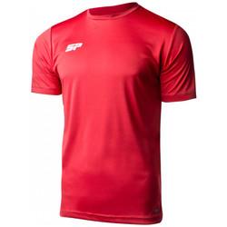 Textil Rapaz T-Shirt mangas curtas Sp Fútbol Valor Criança Vermelho