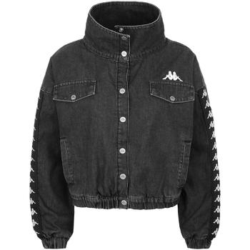 Textil Rapaz casacos de ganga Kappa - Giubbotto grigio 304P340-906 GRIGIO
