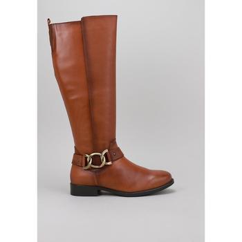 Sapatos Mulher Botas baixas Lol 4017 Bege