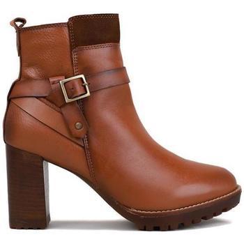 Sapatos Mulher Botas baixas Lol 1904 Castanho