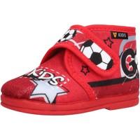 Sapatos Rapaz Pantufas bebé Valleverde - Pantofola rosso 60802 ROSSO