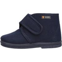 Sapatos Rapaz Pantufas bebé Valleverde - Pantofola blu 60801 BLU