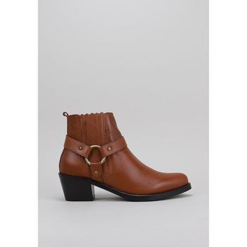 Sapatos Mulher Botas baixas Lol 6001 Castanho