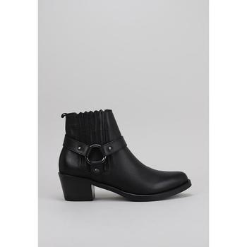 Sapatos Mulher Botas baixas Lol 6001 Preto